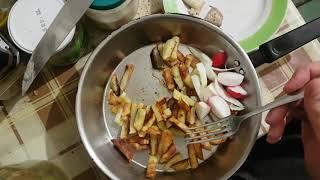 Жареная картошка с молоком от селёдки Особый рецепт
