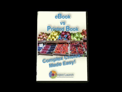 Free Report! eBook vs Print Book–Complex Choice Made Easy!