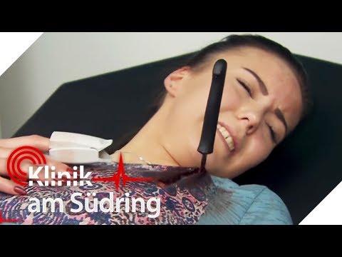 Vom Freund abgestochen? Tabea (25) will fliehen! | Klinik am Südring | SAT.1 TV