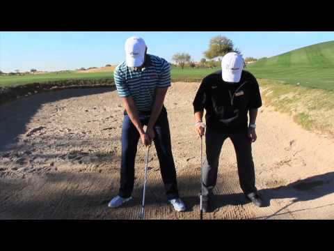 Golf Bunker Shot Lesson - Andy  Patnou PGA Tour Academy