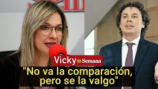 El enfrentamiento entre Vicky Dávila y Hassan Nassar | Vicky en Semana