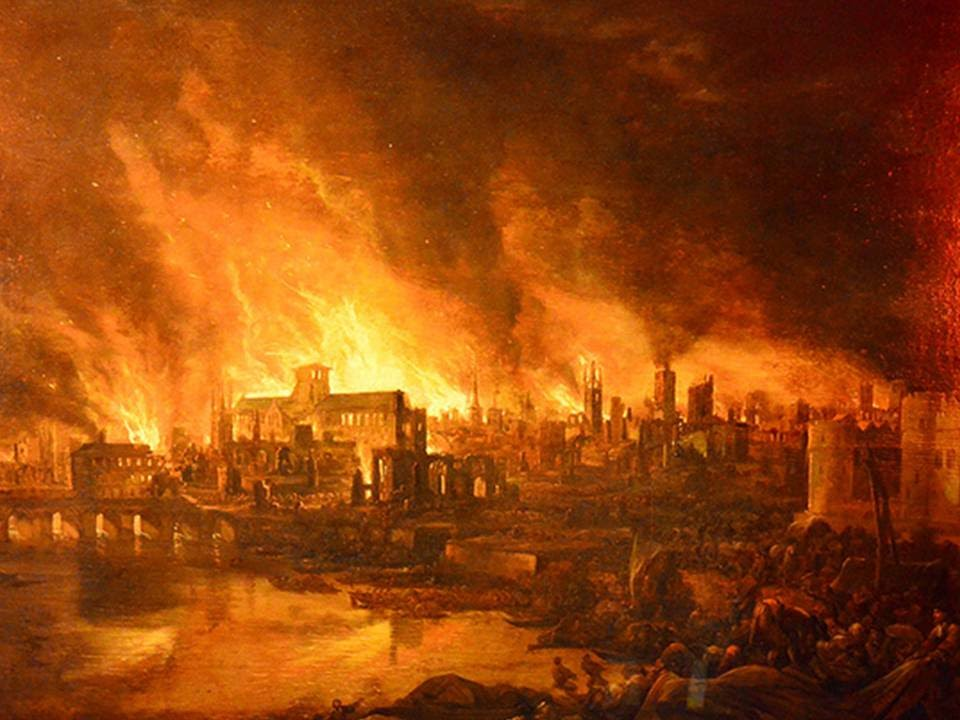 Great Fire of London - YouTube