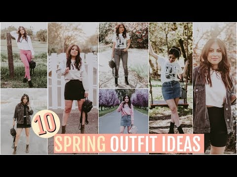 10 SPRING Outfit Ideas: AFFORDABLE & TRENDY