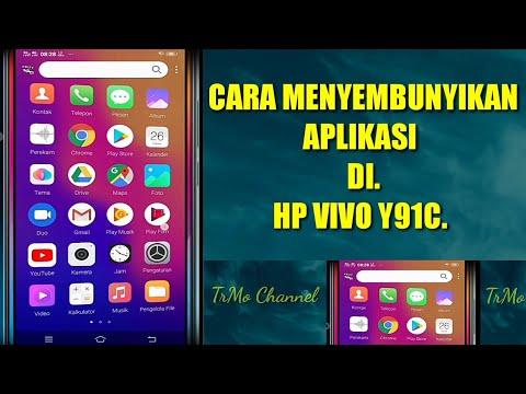 Cara Menyembunyikan Aplikasi Di Hp Vivo Y91c Youtube