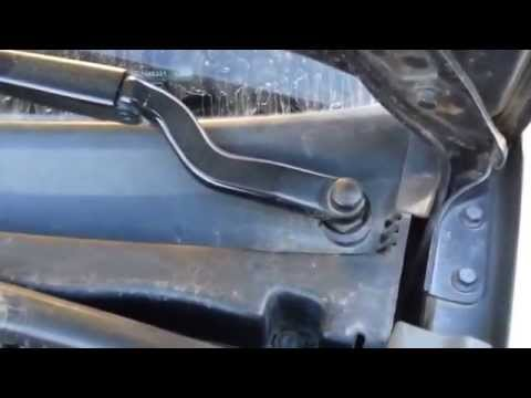 Ford Fiesta Mk6 - Removing and Installing Windshield Wiper Arm