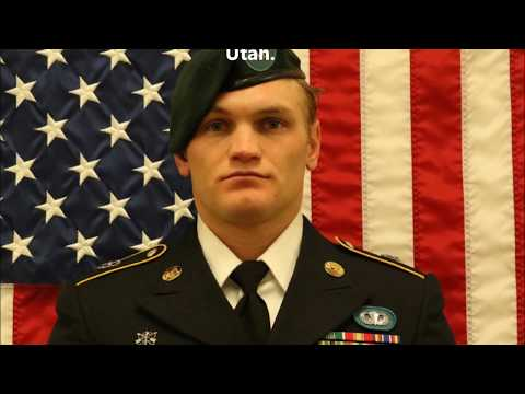 Tribute To Our Fallen Soldiers - US Army  Staff Sgt. Aaron R. Butler, 27, of Monticello, Utah.