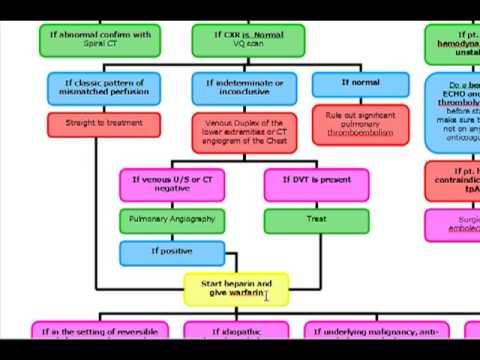 Pulmonary Embolus Algorithm