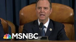 WATCH: Schiff Interrupts Nunes As He Goes After Leaks, Whistleblower | MSNBC