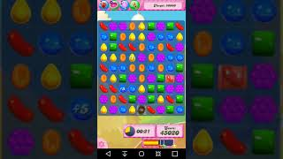 Candy Crush Level 1585 Completed no boosters