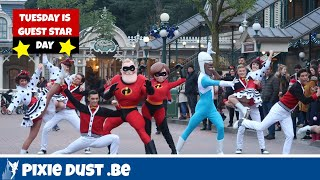 🌟Tuesday is Guest Star Day with the Incredibles & Frozone at Disneyland Paris 2018