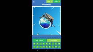 Guess the Picture Quiz for Fortnite level 33