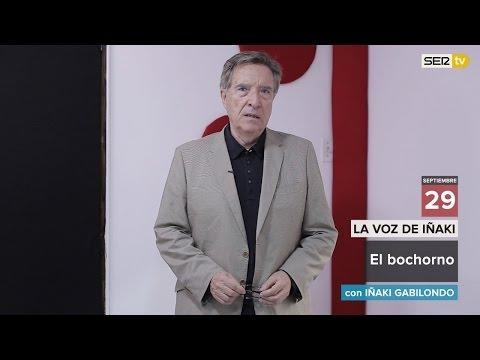 El bochorno. (Videoblog 'La voz de Iñaki'). Cadena SER