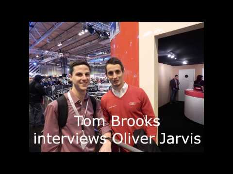 Tom Brooks interviews Oliver Jarvis