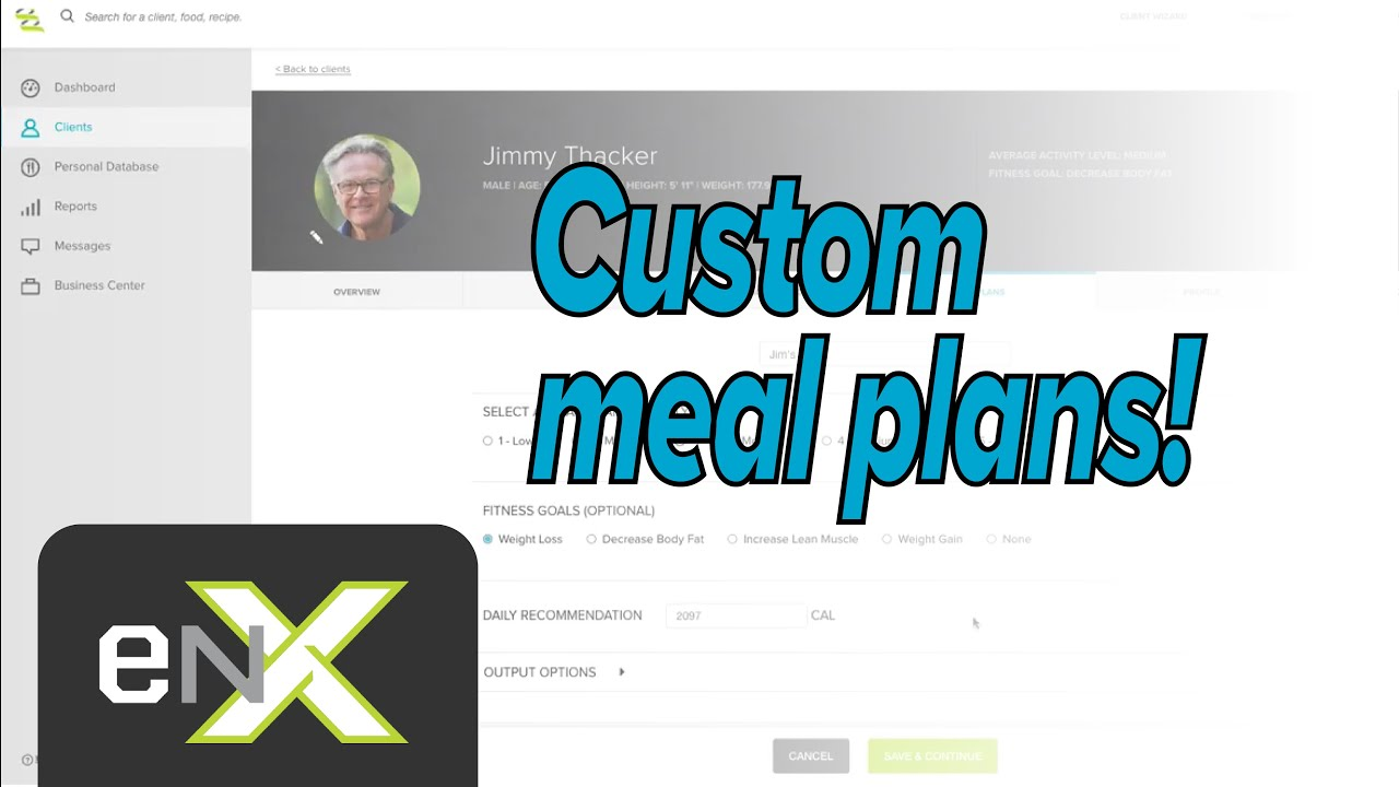 Creating custom Meal Plans in seconds | Evolution Nutrition