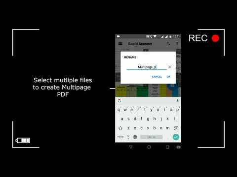 Rapid Scanner : scan docs, photos, notes to pdf