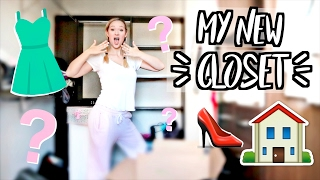 MY NEW CLOSET!! CLOSET TOUR!!