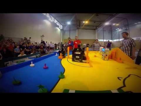 Eurobot 2016 Final RCVA vs MBS 1st round
