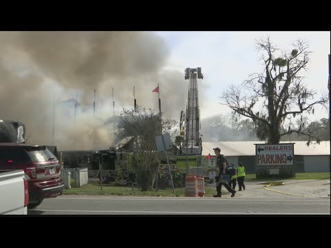Mark - Owner of Keller's flea market says he lost everything in yesterday's fire