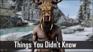 Skyrim: 5 Things You Probably Didn't Know You Could Do - The Elder Scrolls 5: Secrets (Part 13)