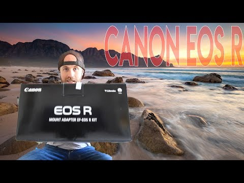 Canon EOS R Unboxing, Set Up & Photography Test