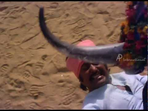 Murattu Kaalai | Tamil Movie | Scenes | Clips | Comedy | Songs | Rajni Bull Fight
