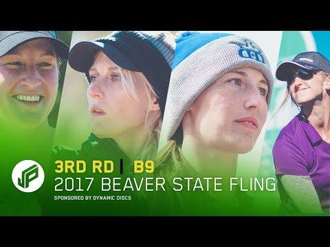 2017 Beaver State Fling | 3rd Round, Back 9 | Pierce,Allen,Jenkins,Hokom