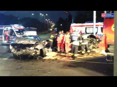 Groźny Wypadek W Olsztynie Na Skrzyżowaniu Sikorskiego-Pstrowskiego