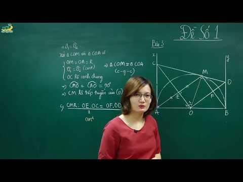 Toán lớp 9 - Đề thi kiểm tra CUỐI HỌC KÌ 1 môn toán lớp 9 Đề số 1 (phần 3/3) - Cô Tạ Thị Huyền Trang