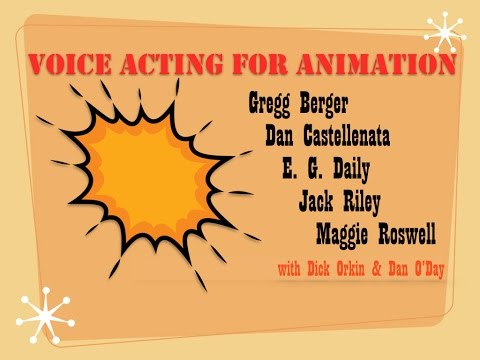 VOICE ACTING FOR ANIMATION Berger Castellenata Daily Riley Roswell