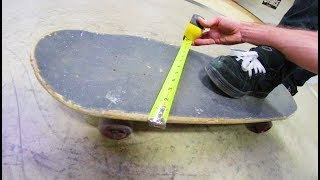 THE WIDEST SKATEBOARD! / Can You Skate Tech With It?