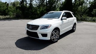 2012 Mercedes-Benz ML63 AMG Performance Package - WINDING ROAD POV Test Drive