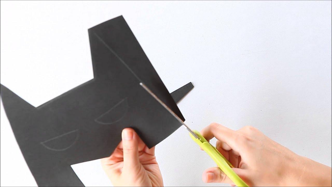 Como Fazer Mascara Do Batman Eva Youtube