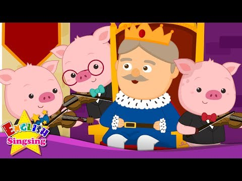 Изобрежения Старый король Коул - Старая Народная песня - английский песни для детей