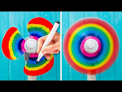 33 GENIUS MARKER HACKS AND FUN STATIONERY TRICKS  BY 5-MINUTE DECOR!