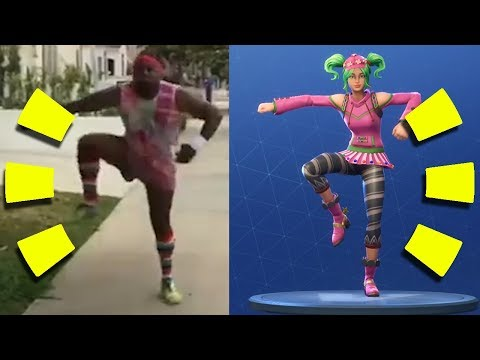 Fortnite Dance References Side-by-Side