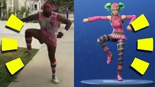 Fortnite Dance References Side-by-Side