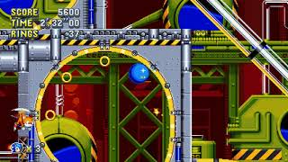 Sonic Mania PC - Maxed Out Drop Dash Speed