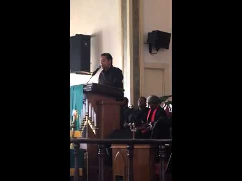 Ken Houston at First African American Methodist Episcopal Church in Oakland - Part 1