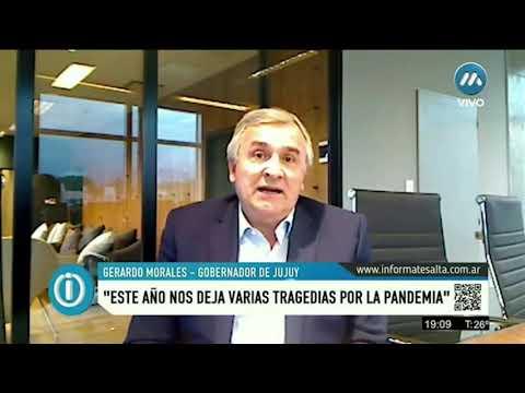 Gerardo Morales, gobernador de Jujuy, realiza un balance del año y plantea desafíos futuros