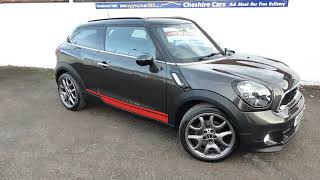 Mini Paceman Cooper S Midnight Grey 20045 Miles Free UK Delivery Car Finance Available