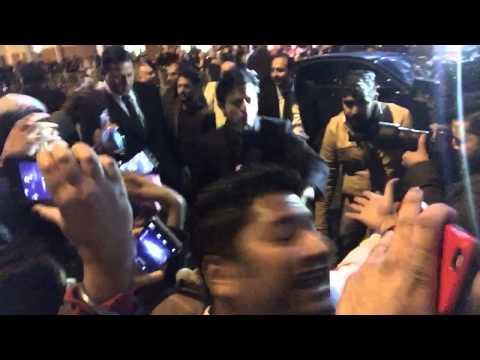 Shaken hand with shahrukh khan at cineworld feltham