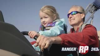 Ranger RP243C Reata Pontoon On-Water Footage