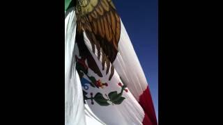 Bandera monumental en durango