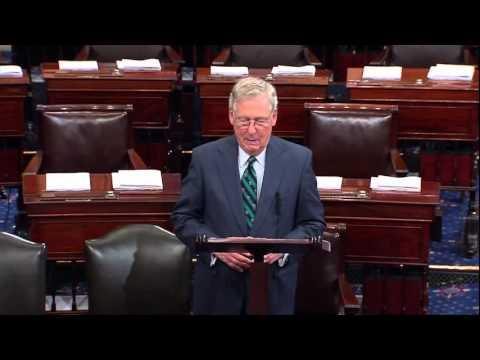 Senator McConnell Congratulates Speaker Paul Ryan