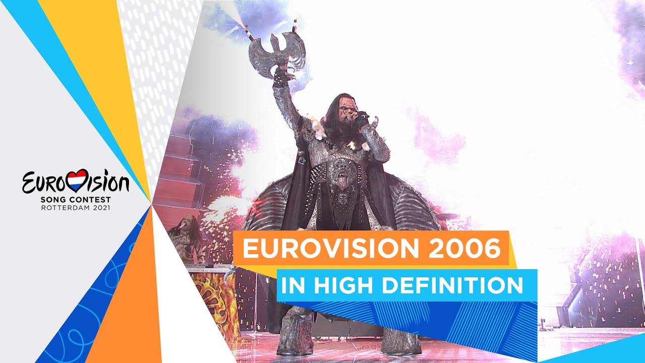 Watch Eurovision 2006 in HD for the very first time!