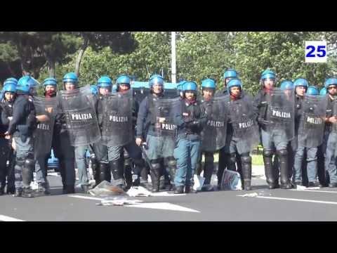 Reparti Celerini Polizia e Finanza - Derby Roma Lazio 0 1 - 26 Maggio 2013