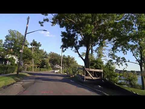 Driving from Douglaston to Bayside in Queens,New York