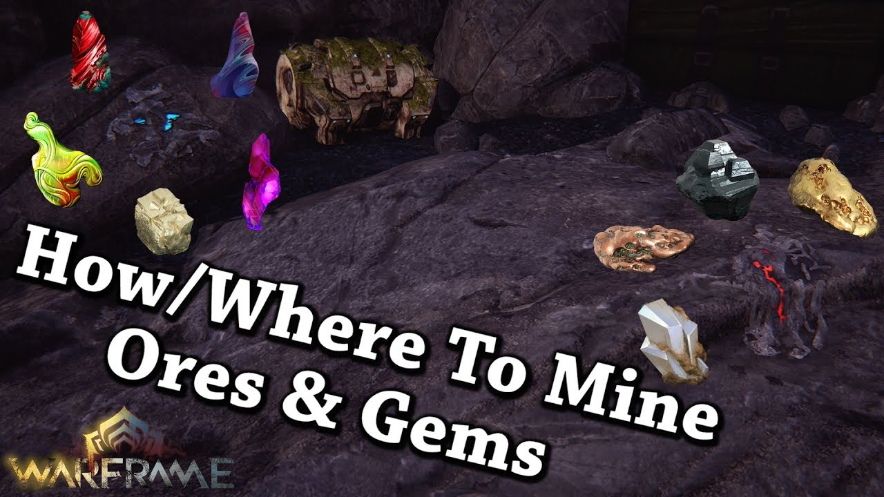 warframe how to get gems