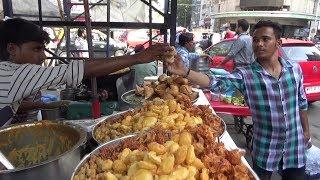 Tasty Aloo Snacks & Mouthwatering Pani Puri | Mumbai Street Food