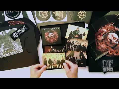 ARCH ENEMY - Will To Power (Unboxing)